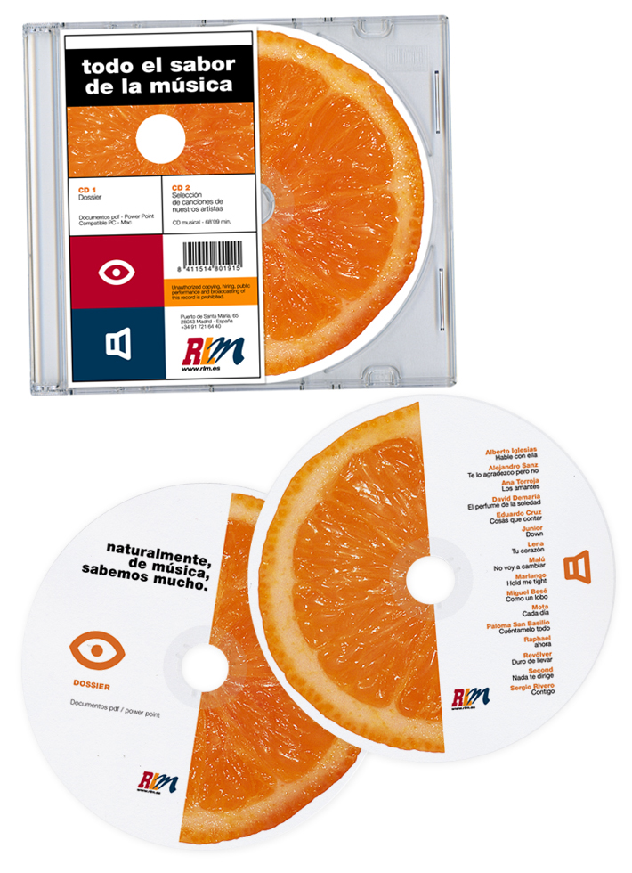 Media Naranja (pack)